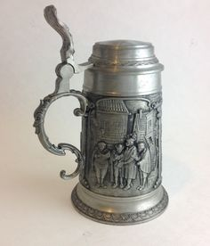 Vintage Artina SKS ZINN Pewter Stein Made by SheWhoPlaysWithGlass