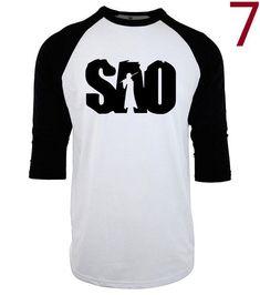 Sword Art Online SAO Anime T Shirt fashion 2017 Cotton three-quarter sleeve mens T-shirts fashion raglan geek brand clothing mma #menst-shirtsfashion