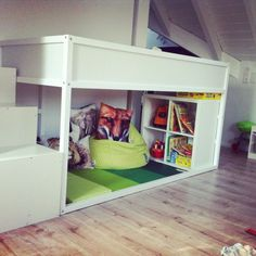 New No Cost Creative Living Design, Spectacular Animal Safari During Ikea Hack Cot ~ G . Concepts The IKEA Kallax series Storage furniture is a vital element of any home. They provide purchase and Ikea Bed Hack, Ikea Hack Kids, Ikea Hacks, Toddler Rooms, Toddler Bed, Cama Ikea Kura, Boy Room, Kids Room, Ikea Kids Bedroom