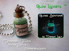 Mermaid Tears Potion Bottle Glow in the dark Magic by MoniqueLula, $18.00