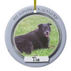 In Memory Of Pet Ornament