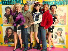 beverly hills 90210 dolls mattel 90s Barbie 1990, Barbie Doll Set, Barbie And Ken, Celebrity Barbie Dolls, Beverly Hills 90210, Children Images, Barbie Collector, New Dolls, Childhood Toys