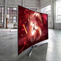 Fancy - Samsung SUHD Curved Smart LED TV
