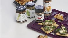 Slice of Spinach Pizza. Purchase this appy collection this fall & receive the appy maker FREE. Epicure Recipes, Tapas Recipes, Snack Recipes, Vegetarian Brunch Recipes, Vegetarian Lunch, Appetizer Salads, Appetizer Recipes, Menu Tapas, Pasta Pizza