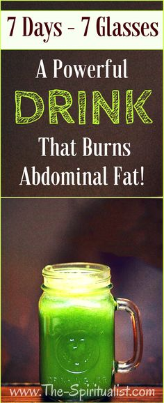 A Powerful DRINK That Burns Abdominal Fat: Drink it for 7 Days and Experience Amazing Results!