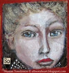 Face No 80 by Sharon Tomlinson