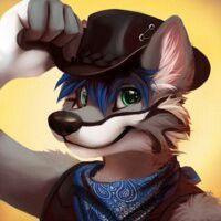 Cowboy wolf