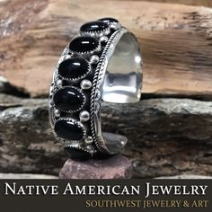 Native American bracelets that are affordable are at Native American Jewelry. We have the best choices of American Indian bracelets online. Southwest Jewelry, Turquoise Cuff, Native American Jewelry, Black Onyx, Navajo, Jewelry Art, Gemstone Rings, Rings For Men, Indian