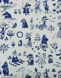 Moomin wallpaper yes please!!!