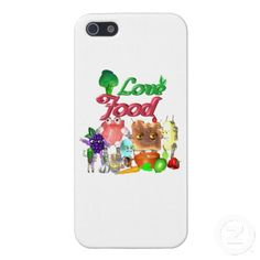 Love Food by Valxart.com iPhone 5 Cover