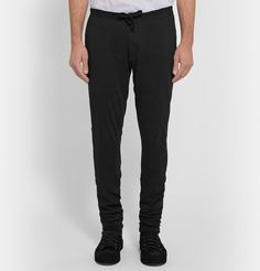 Ann Demeulemeester - Tapered Cotton-Jersey Sweatpants £270