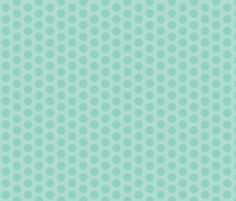Color dots-mint2 fabric by miamaria on Spoonflower - custom fabric