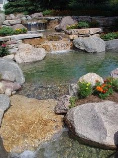pond, stream, water areas