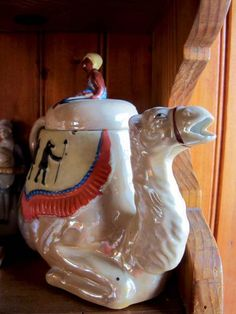 You don't see teapots like this anymore...