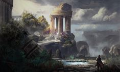 the broken city of Asterion (Lost Isles Concept Art) -  k04sk.deviantart.com on @deviantART