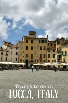 The town of Lucca in Tuscany, Italy is known for it's impressive walled city. Here are some things to do in Lucca during your visit