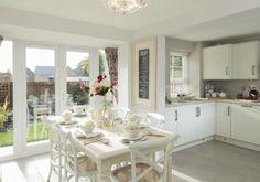 Barratt Homes - Ashby-De-La-Zouch  French style kitchen