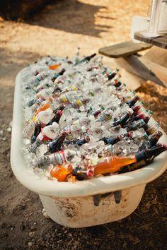 drinks idea... from wedding chicks blog