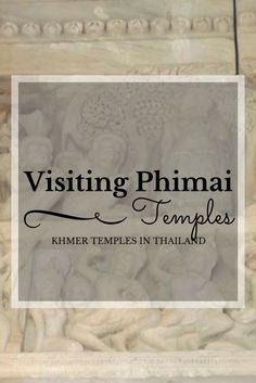 Visiting Phimai Khmer temples at Phimai, Thailand