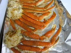 Print Seasoned Baked Crab Legs My Fiance's absolute FAVORITE food is crab. My family and I always loved crab as well. Here in NC, with the Atlantic Ocean and coast pretty close, we love to get crab when we can. It is a nice splurge item and is perfect for summer. Growing up, we always … … Continue reading →