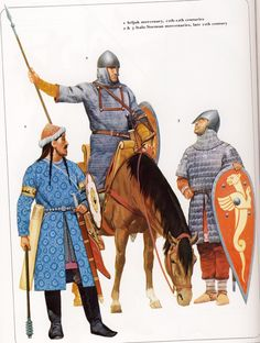 Byzantine mercenaries - Seljuq and Italo-Norman mercenaries