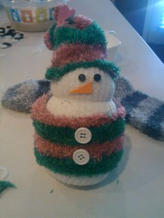 My home made snowmen