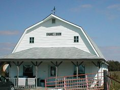 """Amish Store - the """"Fabric Barn"""" by Ido Genealogy, via Flickr"""