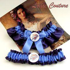 Custom Sports Garters Custom Wedding Sports by lolliecouture