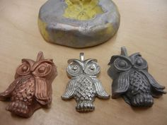 How to make your own molds to make copies of charms.