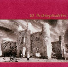 The Unforgettable Fire 1984  |   Slide show, seaside town, Coca-cola, football radio, radio, radio, radio, radio, radio