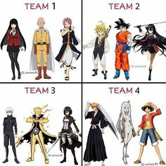 Team 1 the winner One punch With End :v Otaku Anime, Manga Anime, Got Anime, Manga Naruto, Naruto Shippuden Anime, Anime Guys, Anime Crossover, Anime Life, Anime Shows