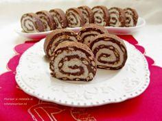 Rulada de biscuiti cu mascarpone si nuca de cocos - Rețete Merișor Romanian Desserts, Something Sweet, Coco, Biscuit, Sweet Treats, Deserts, Muffin, Goodies, Rolls
