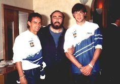 Roberto Baggio + Pavarotti + Walter Zenga.