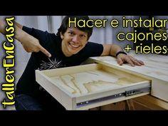 Diy Videos, Carpentry, Diy Art, Ideas Para, Sweet Home, Woodworking, Diy Furniture, Youtube, Barbie