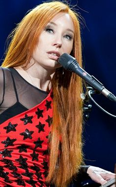 Tori Amos - redhead, red hair, ginger