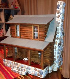Half Scale Log Cabin