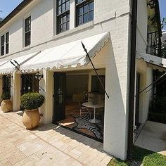 Decks With Awnings Retractable Awnings Add Space Without