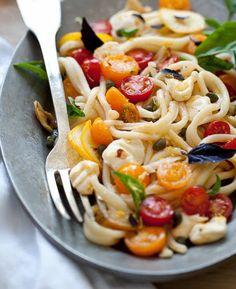 Spaghetti kerstomaatjes