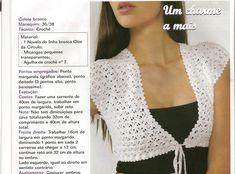 Mrs. Patricia Crochet: Bolerinhos para o verão em crochê - mais alguns
