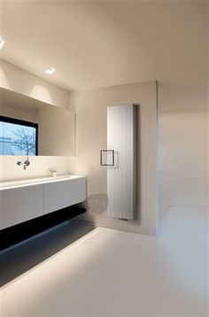Vasco Alu-Zen is tall and handsome with exquisitely curved edges, the soft lines of this aluminium radiator provide enlightenment and powerful levels of performance. Available in fine textured white or a selection of colours. A choice of square or retangular towel bars are available, as are short or long single towel rails (only available in aluminium finish), which are available in black, white or pigeon blue. All of which can be mixed and matched. Prices start from £691.20