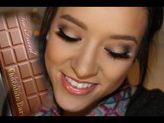I just received my Semi-Sweet Chocolate Bar Palette from Too Faced. Makeup Videos, Makeup Tips, Beauty Makeup, Eye Makeup, Makeup Tutorials, Hair Makeup, Chocolate Bar Palette Looks, Chocolate Bar Too Faced, Too Faced Semi Sweet