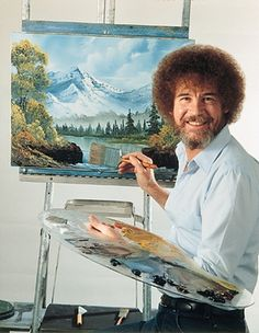 Robert Norman Ross was an American painter, art instructor, and television host. He was the creator and host of The Joy of Painting, an instructional television program that aired from 1983 to 1994 on PBS in the United States, and also aired in Canada, Latin America, and Europe. With a soft voice and a permed afro, Ross went from being a television personality in the 1980s and 1990s to an Internet celebrity popular with fans on YouTube and many other websites.[1][2]