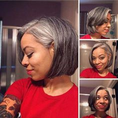 XMAS EVE 2017 – 14 months progress and loving my new cut! XMAS EVE 2017 – 14 months progress and loving my new cut! Natural Hair Bob, Natural Hair Styles, Curly Hair Styles, Silver Haired Beauties, Grey Hair Inspiration, Grey Hair Don't Care, Gray Hair Growing Out, Asymmetrical Bob Haircuts, Transition To Gray Hair