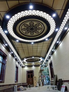 House Ceiling Design, Home Stairs Design, Ceiling Design Living Room, House Design, Roof Ceiling, Pooja Room Door Design, Backyard Canopy, Selling Design, Ceiling Detail