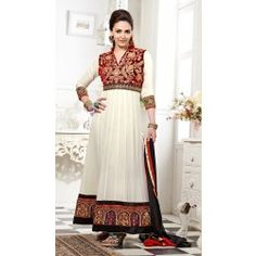 http://indiarush.com/esha-deol-georgette-embroidered-white-red-semi-stitched-long-anarkali-suit-fbst3-3002/