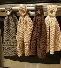 hanging dishcloths