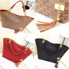 New Lady Women Hobo Shoulder Bag Messenger Purse Satchel Tote Tassel Handbag FE #ODM #Fashion