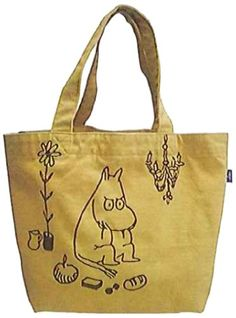 Moomin vintage color canvas tote bag Moomin, Vintage Colors, Canvas Tote Bags, Purses And Bags, Reusable Tote Bags, Cute, Diy, Objects, Bricolage