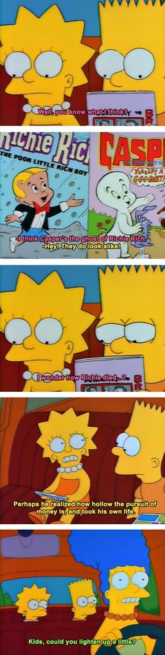 When The Simpsons Gets Deep