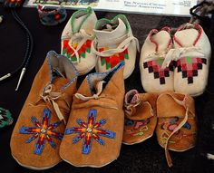 Navajo Moccasin by gary graves, via Flickr
